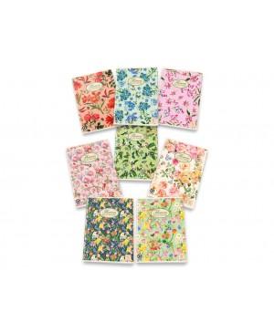 Sąsiuvinis Pigna Nature Flowers, A5, 40 lapų, langeliais