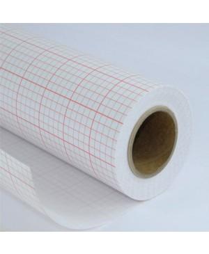 Popierius eskizams matuojamas lipnus, plotis 120cm, 1 metras