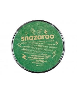 Grimo dažai Snazaroo, 18ml, metalizuoti žali