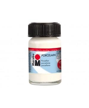 Porceliano dažai Marabu, 15ml, 070 white