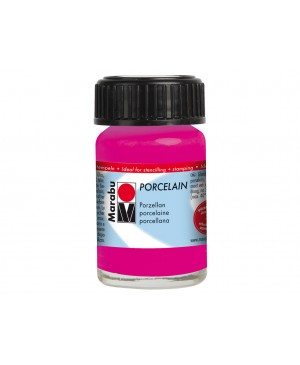 Porceliano dažai Marabu, 15ml, 131 raspberry