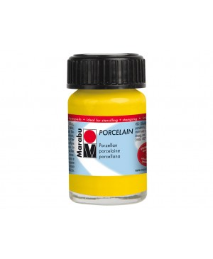 Porceliano dažai Marabu, 15ml, 220 sunshine yellow