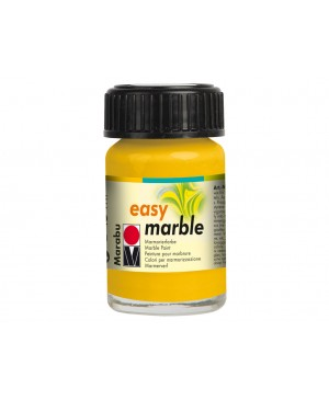 Marmuravimo dažai Marabu Easy Marble 021 med yellow