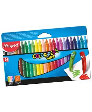 Vaškinė kreidelė Color Peps 24vnt.
