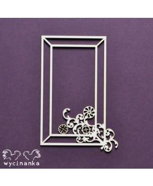 Kartono formelė Steampunk Frame