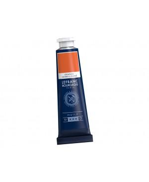 Aliejiniai dažai LB Fine 40ml 697 vermilion orange