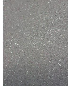 Popierius dekoratyvinis su blizgučiais A4, balta (59)