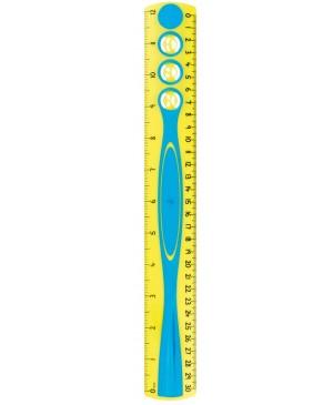 Liniuotė Maped Kidy Grip dvipusė 30cm