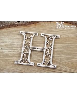 Kartono formelė - Monograce inicialas H, 1 vnt.