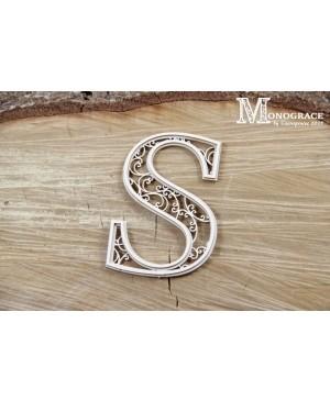 Kartono formelė - Monograce inicialas S, 1 vnt.