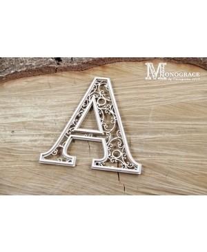 Kartono formelė - Monograce inicialas A, 1 vnt.