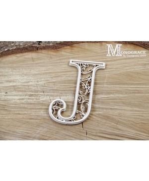 Kartono formelė - Monograce inicialas J, 1 vnt.