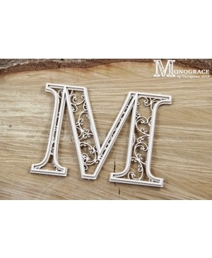 Kartono formelė - Monograce inicialas M, 1 vnt.