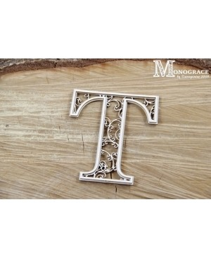 Kartono formelė - Monograce inicialas T, 1 vnt.