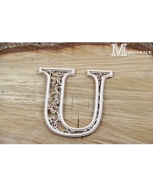 Kartono formelė - Monograce inicialas U, 1 vnt.