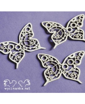 Kartono formelė Steampunk Time Butterflies