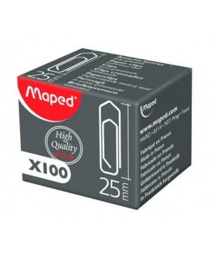 Sąvaržėlės Maped Extra Strong 25 mm., 100 vnt. kartono dėžutėje