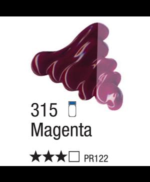 Aliejiniai dažai Acrilex 37ml Magenta 315