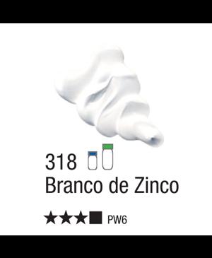 Aliejiniai dažai Acrilex 37ml Zinc White 318
