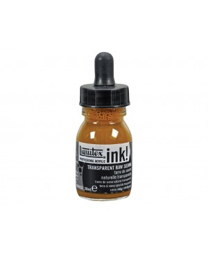 Akrilinis tušas Liquitex 30ml 332 transparent raw sienna