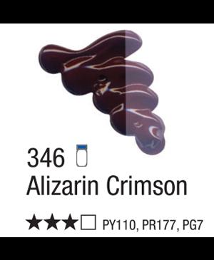 Aliejiniai dažai Acrilex 37ml Alizarin Crimson 346