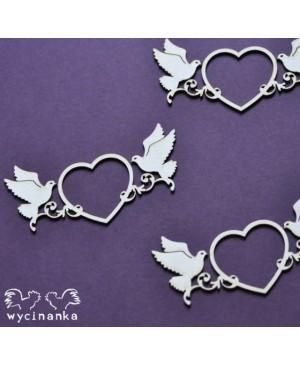 Kartono formelė Beautiful Wedding Heart 3