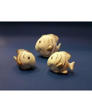 Dekoratyvinė žuvytė 3.5x3x3.5 cm.