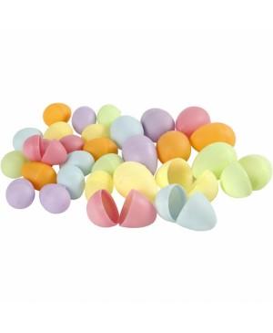 Kiaušiniai, rinkinys pastelinių .sp.,4.5 x3cm, 24vnt.