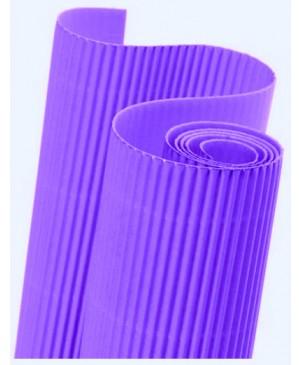 Gofruotas kartonas  50x70cm (43), violetinės sp.