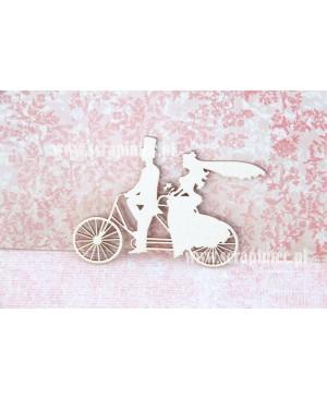 Kartono formelė Ant dviračio, 7cm, 1vnt.
