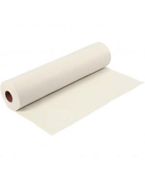 Sintetinis veltinis - filcas 1,5 mm storio, 45 cm pločio, 1 m, natūralios baltos sp.