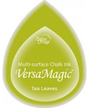 Rašalo pagalvėlė VersaMagic Dew Drop Tea Leaves žalia