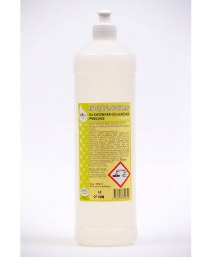 Indų ploviklis su dezinfekuojančiais priedais, 1000 ml
