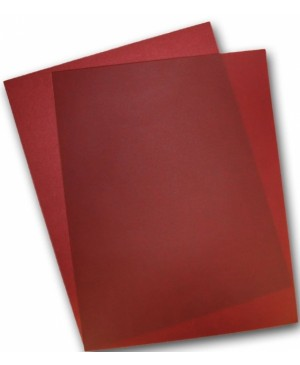 Spalvotas permatomas popierius Curious Translucent, Red Lacquer, 100g., A4, 1 lapas