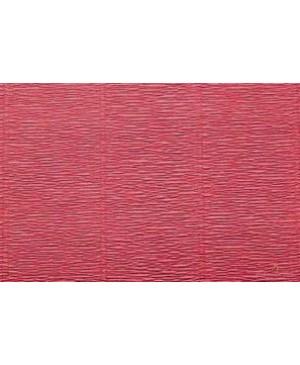 Krepinis popierius 50 cm x 2,5 m, 180 g/m² , raudona sp. (547)
