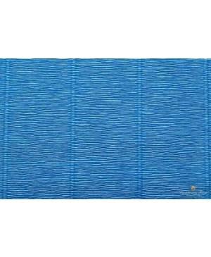 Krepinis popierius 50 cm x 2,5 m, 180 g/m², mėlyna (557)