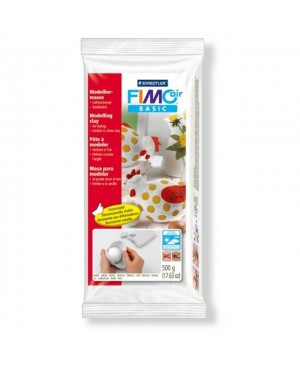 Molis Fimo Air Basic 500g, baltas