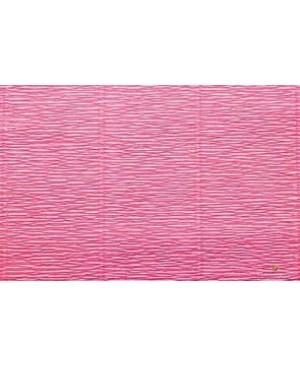 Krepinis popierius 50 cm x 2,5 m, 180 g/m² , rausva (571)