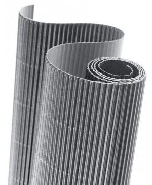Gofruotas kartonas  50x70cm (57), pilkos sp.