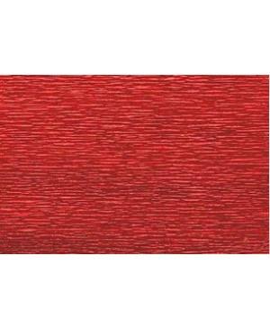 Krepinis popierius 50 cm x 2,5 m, 180 g/m² , tamsiai raudona sp. (583)