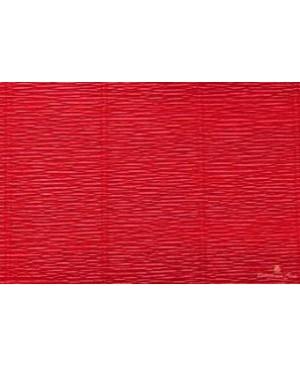Krepinis popierius 50 cm x 2,5 m, 180 g/m², raudona (589) - scarlet red