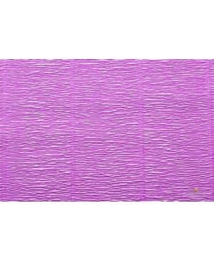 Krepinis popierius 50 cm x 2,5 m,180 g/m², alyvinė (590)