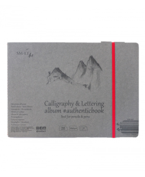 Siūta kaligrafijos ir dailyraščio knygutė 245x176mm, 100 g/m², 32 lapai