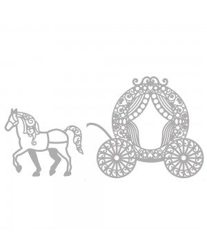 Kirtimo formelė Horse and Carriage, 2vnt.