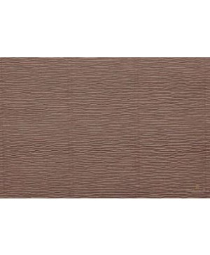 Krepinis popierius 50 cm x 2,5 m, 180 g/m², kavos ruda (614) - Mocka Brown