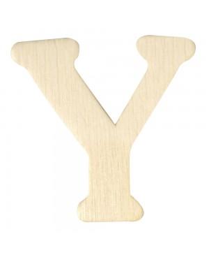 Medinė raidė 4cm, Y