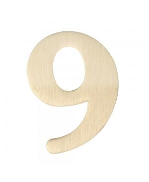Medinis skaičius 4cm, 9