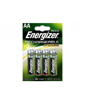 Įkraunamas elementas Energizer Rechargeable HR6-AA, 2450mAh, 1 vnt.