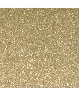 Skrebinimo popierius su blizgučiais 30,5x30,5cm 200 g/m², Kašmyro auksas