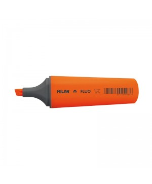 Teksto žymeklis Milan Fluo, kirstu galiuku, 1-4,8 mm, oranžinės sp.